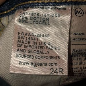 Ag Adriano Goldschmied Jeans - AG Adriano Goldschmied Size 24R